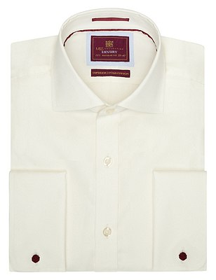 Pure Cotton Shirt, IVORY, catlanding