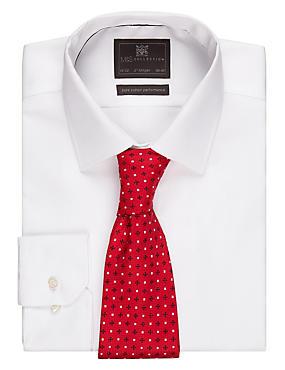 Textured Tie, RED MIX, catlanding