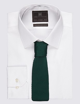 Knitted Tie, GREEN MIX, catlanding