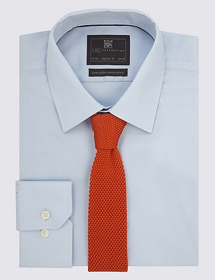 Knitted Tie, ORANGE MIX, catlanding