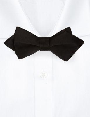 Узкий галстук-бабочка