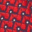 Pure Silk Micro Spotted Ties, RED, swatch