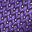 Pure Silk Micro Spotted Ties, PURPLE, swatch