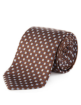 Made in Italy Luxury Silk Tie Clothing