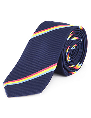 Triple Striped Tie Clothing