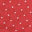 Pure Silk Spotted Textured Tie, RED, swatch