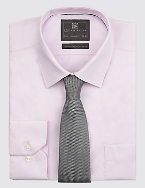 Pure Silk Textured Tie, GREY, catlanding