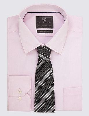 Pure Silk Textured Striped Tie, GREY MIX, catlanding