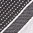 Pure Silk Textured Striped Tie, GREY MIX, swatch