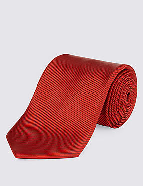 Plain Tie, RED, catlanding