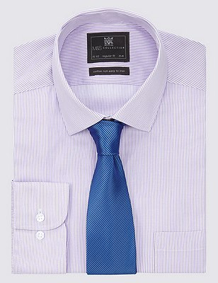 Plain Tie with Stain Resistance, BLUE MIX, catlanding