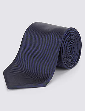 Plain Tie, NAVY MIX, catlanding