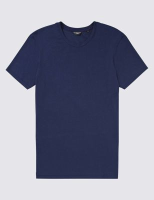 Мягкая нательная футболка Supima Cotton и MicroModal® David Gandy for Autograph T141620A