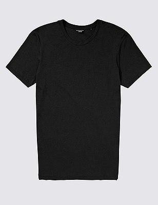 Stay Soft Crew Neck Vest, BLACK, catlanding