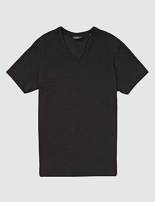 Stay Soft V-Neck Vest, BLACK, catlanding