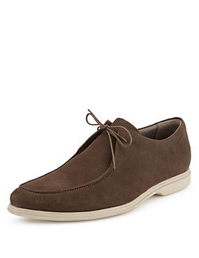 Mole Made in Italy Suede Lace Up Shoes