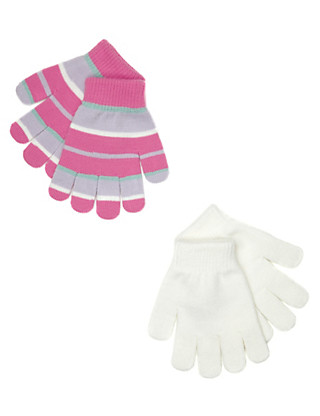 2 Pack Assorted Gloves Clothing