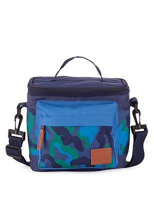 Camouflage Pocket Lunch Box with Thinsulate™ (Older Boys), GREEN MIX, catlanding
