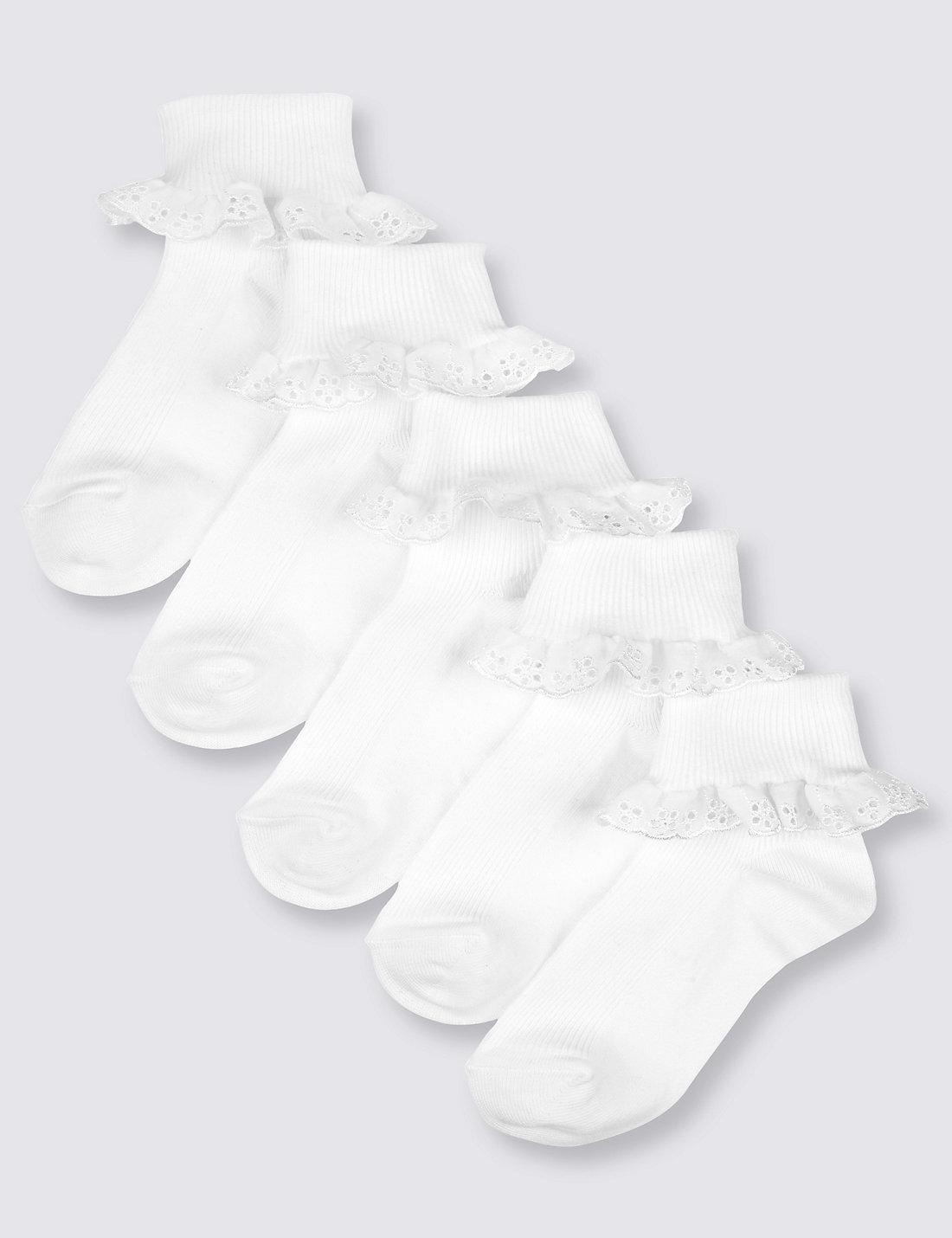 Black gloves sulit - 5 Pairs Of Freshfeet Trade Cotton Rich Socks 2 11