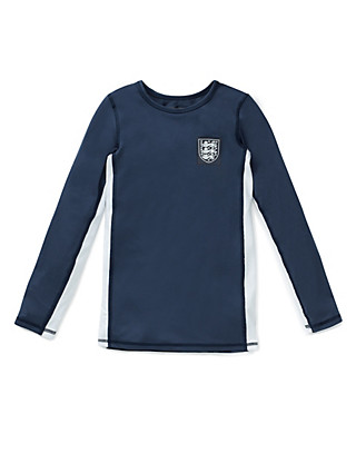 Body Sensor™ Official England FA 3 Lions Base Layer Vest Top (5-16 Years) Clothing