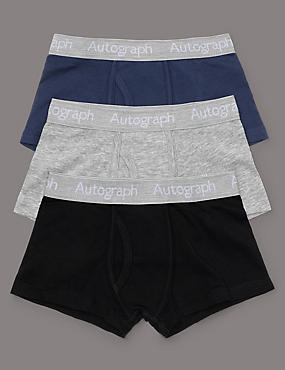 3 Pack Classic Mix Trunks (4-16 Years)