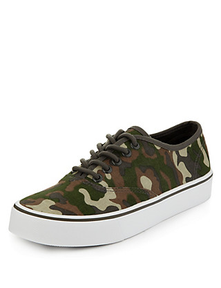 Camouflage Trainers Clothing
