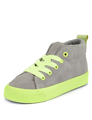 Suede Hightop Stain Defence™ Chukka Trainer (Younger Boys) Clothing