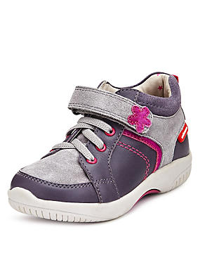 Walkmates Leather Riptape Casual Boots (Younger Girls)