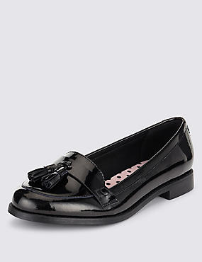 Freshfeet™ Leather Patent School Shoes with Insolia Flex® & Silver Technology (Older Girls)