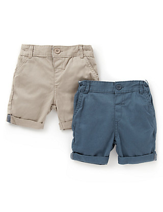 2 Pack Pure Cotton Shorts Clothing