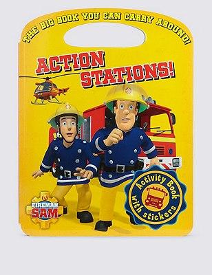 Fireman Sam™ Action Stations Carry Activity Book, , catlanding