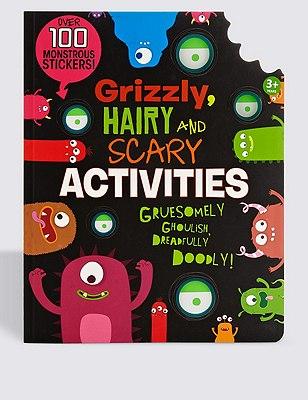Monster Activity Book, , catlanding