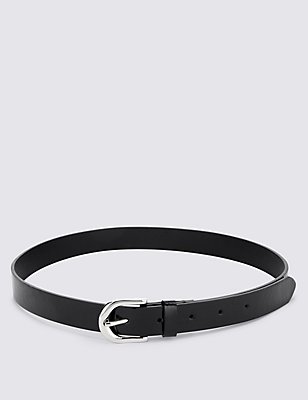Kids' Patent Belt, BLACK, catlanding
