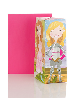 Mix & Match Girls Birthday Card Home