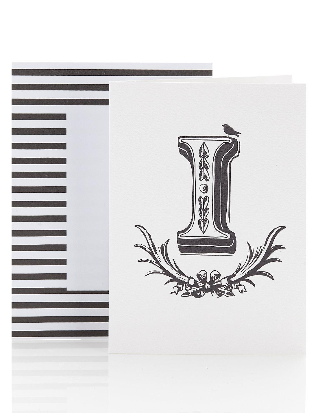 Alphabet greetings card letter i ms alphabet greetings card letter i kristyandbryce Image collections