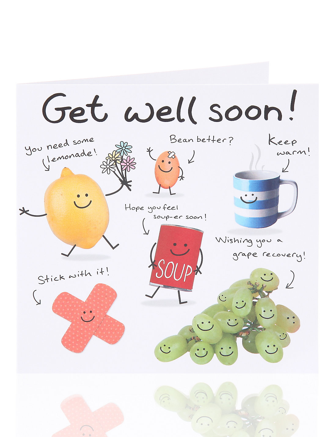 Get well soon greetings card ms get well soon greetings card kristyandbryce Image collections