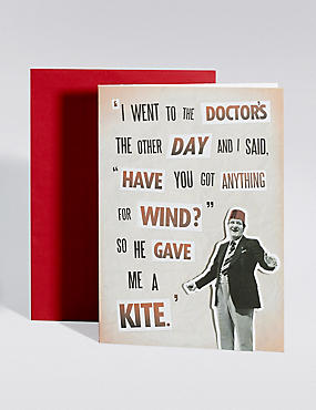 Tommy Cooper Blank Card