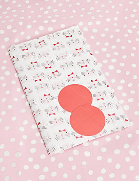 Gift boxes gift wrapping paper ribbons gift tags ms pink polka cat wrapping paper negle Gallery