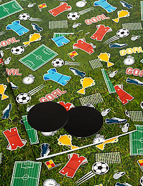 Football Icons Sheet Wrapping Paper, , catlanding