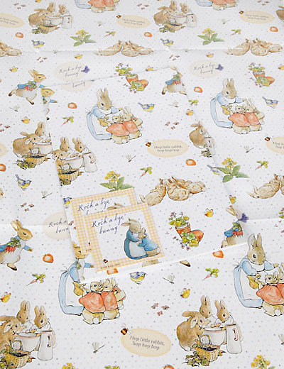 2 Peter Rabbit Wrapping Paper M Amp S