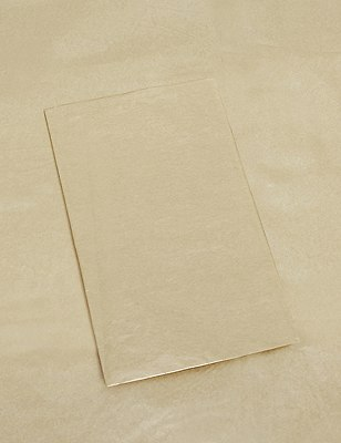 3 Sheets Gold Tissue Paper, NO COLOUR, catlanding
