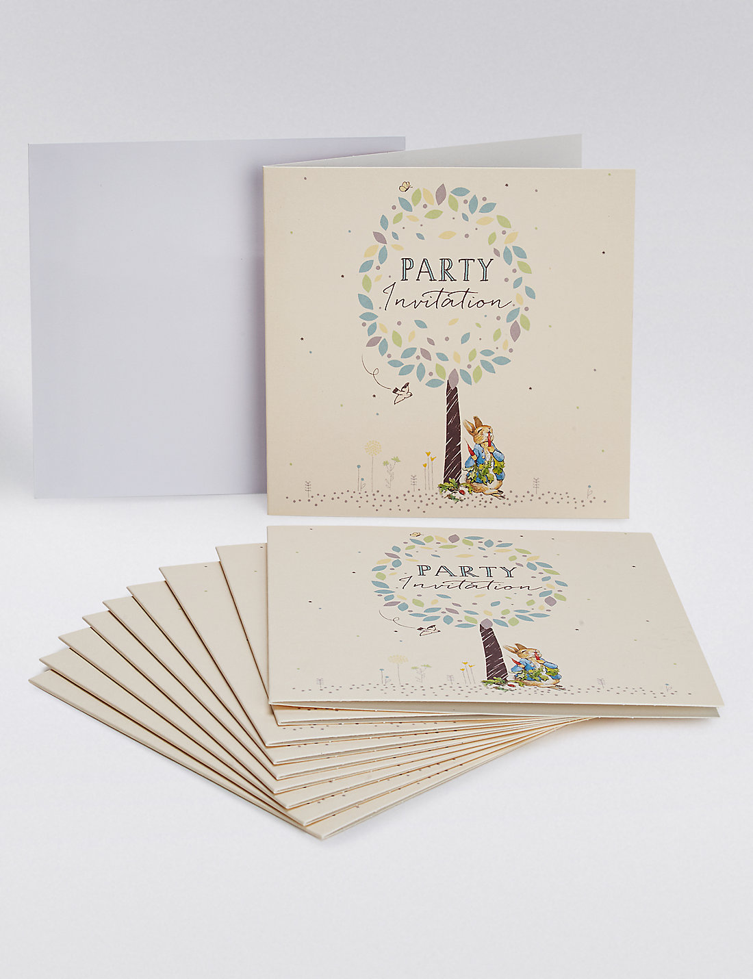 Peter Rabbit Party Invites M S