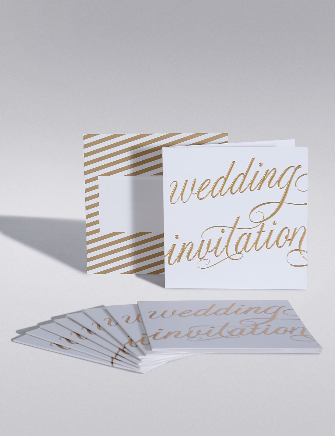 gold calligraphy wedding invitations - Wedding Invitation Calligraphy