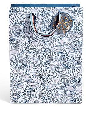 Nautical Large Gift Bag, , catlanding