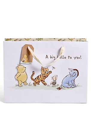 Winnie The Pooh Large Gift Bag, , catlanding