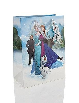 Disney Frozen Characters Large Gift Bag, , catlanding