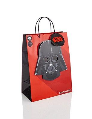Large Darth Vader™ Gift Bag with Removable Mask, , catlanding