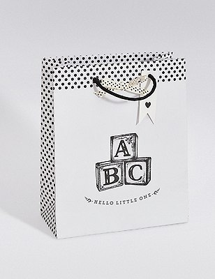 Baby ABC Medium Gift Bag, , catlanding