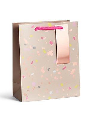 Copper & Confetti Medium Gift Bag, , catlanding