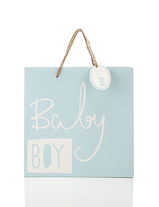 Medium Baby Boy Gift Bag Home